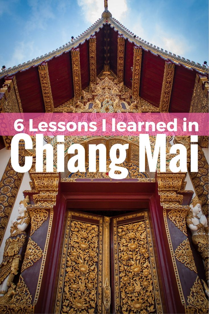 6 Lessons I Learned in Chiang Mai that will stick with me forever via @beaniesandbikin