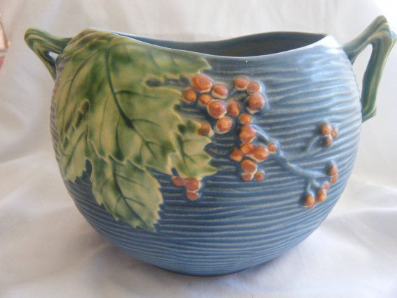 This is Roseville pottery, its fabulous!!