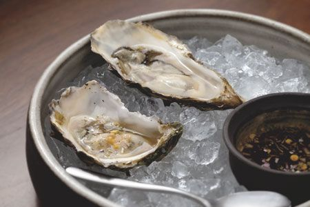 When visiting The Ritz-Carlton, Atlanta, take an oyster trip from Atlanta Grill to try at home. Host an oyster tasting at your next party selecting oysters from different regions and offer garnishes like homemade cocktail sauce, fresh horseradish, lemon wedges and grated ginger with soy sauce.