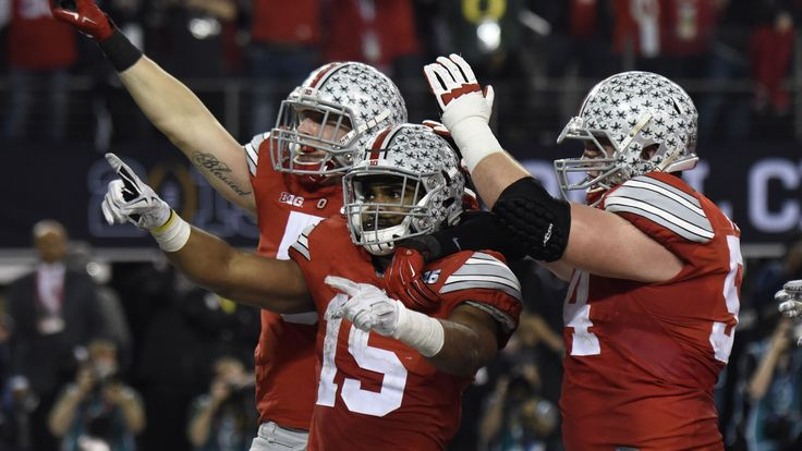 ESPN as well as Ohio State scored big with the first College Football Playoff National Championship. The network got an 18.5 overnight rating for Ohio State's 42-20 win against Oregon at AT&T Stadium in