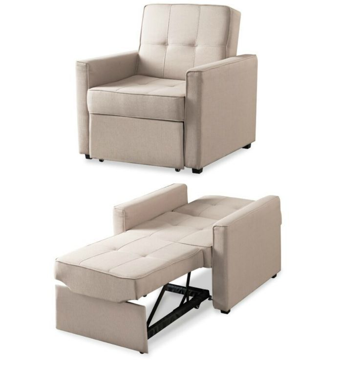 Pin On Ideias Para Decoracao Chairs that convert to beds