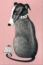 Het Paradijs Poster Hond - A3 | Posters | Buiten de Lijntjes