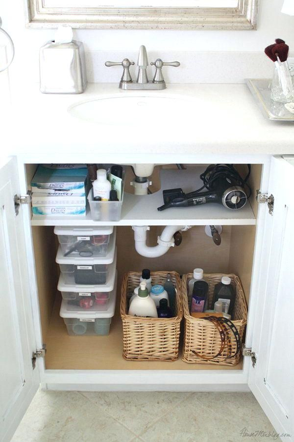 Under Bathroom Sink Storage Cabinet Creative Hair Dryer And