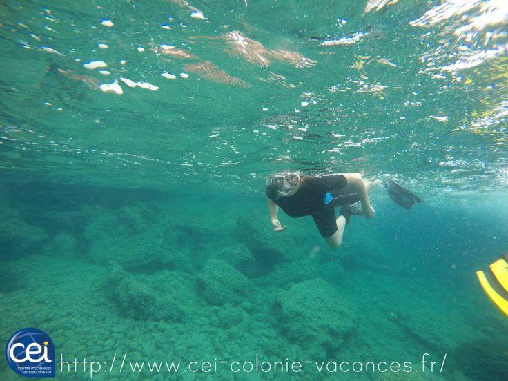 Une super activité de plongée en colonie de vacances Barcelone Baléares  #CEIete17 #Colonie #Jeunes #CEI
