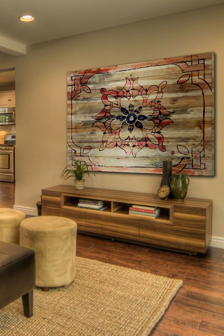 Todrha Brown Distressed Wood Wall Art F 246 R Th 235 H 246 M 235