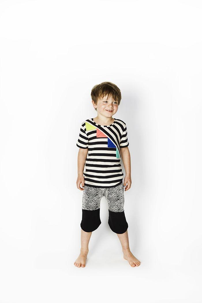 ... flag t shirt in black and white scandi mini more scandi mini t shirts