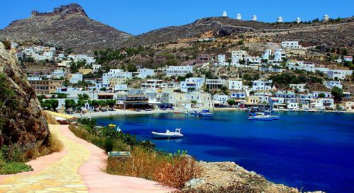 GREECE CHANNEL | Pandeli bay, Leros island by Marie Therese on flickr