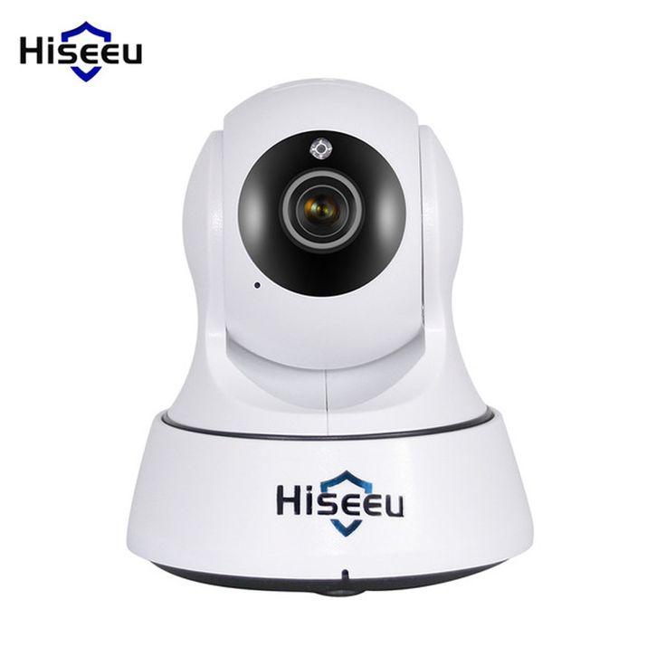 Hiseeu HD 720p Wifi Wireless Camara De Vigilancia IP Network Camaras De Seguridad Night Vision Baby. Click visit to buy