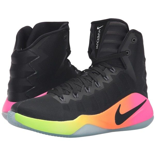 034fea2f675 ... low price nike hyperdunk 2016 black pink blast volt black mens  basketball 140 liked on polyvore