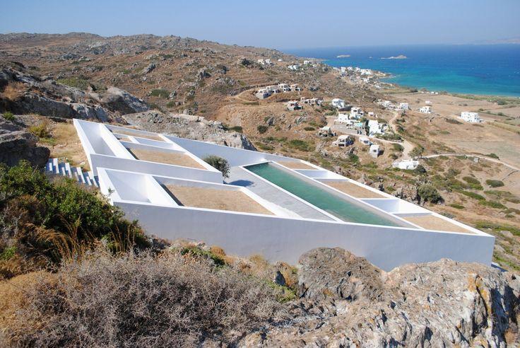 "wellplanned-architecture: "" Summer House in Naxos / Ioannis Baltogiannis, Phoebe Giannisi, Zissis Kotionis, Katerina Kritou and Nikolaos Platsas Greece, 2012 """