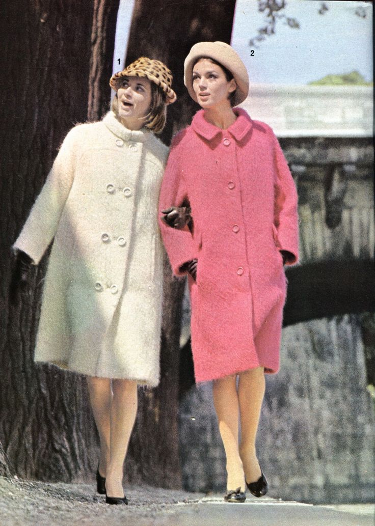 All sizes | moda - 1964 - mantello lana mohair e mantello redingote | Flickr - Photo Sharing!