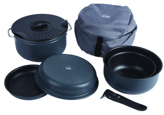 Camp Gear Camping - Pannenset - Compact - 7 Delig