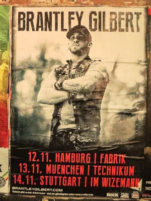 Country Musik Konzertbericht: Brantley Gilbert in Hamburg, Germany #germangirlsgocountry #goforcountrygermany