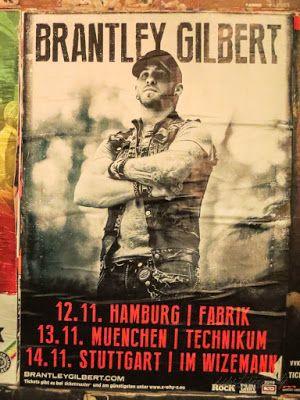 Country Musik Konzertbericht: Brantley Gilbert in Hamburg, Germany #germangirlsgocountry #goforcountrygermany