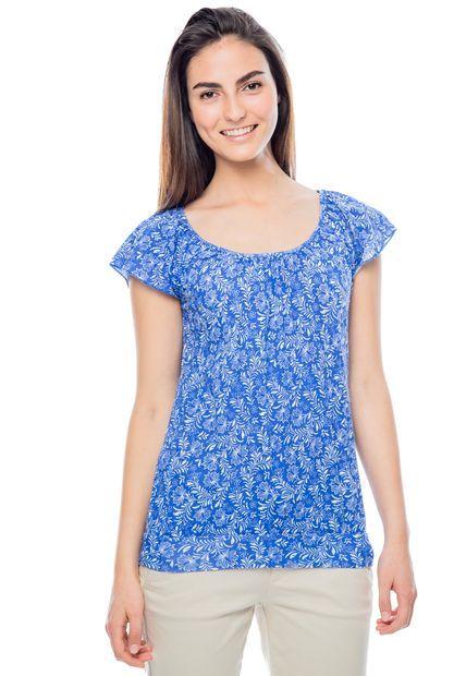 Me encanta! Miralo! Camiseta gef Azul Rey  de Gef en Dafiti