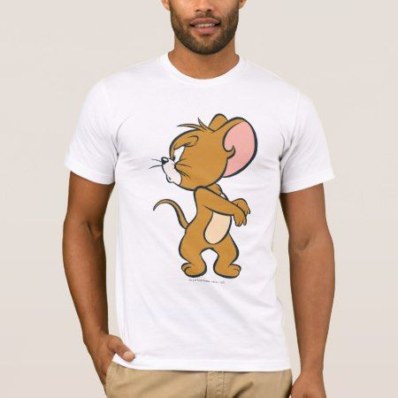Jerry Looking Back Annoyed T-Shirt - tap, personalize, buy right now!