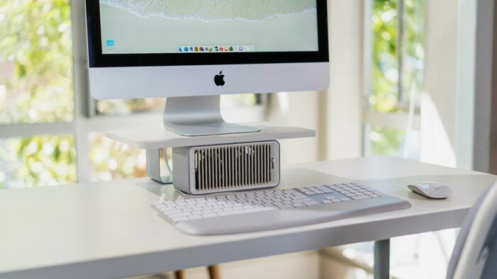 Kensington Cool View Wellness Monitor Stand With Desk Fan In 2020 Desk Fan Monitor Stand Cool Stuff