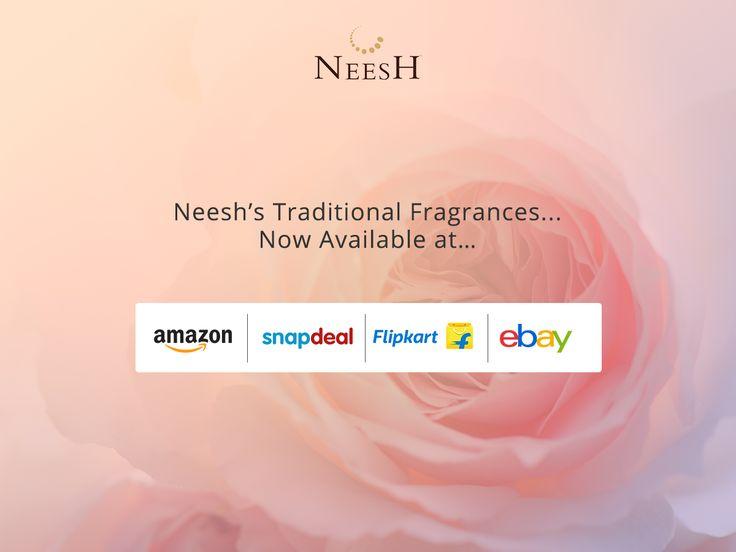 Hurry!! Get your Neesh Today #PortablePocketPerfume #Amazon #Ebay #Flipkart #Snapdeal #OnlineShopping Visit www.neesh.in