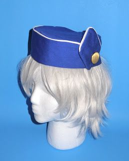 I got an email asking if I could make this hat from the new show on ABC called   Pan Am , about the Airline stewardess of the 1960's for ...