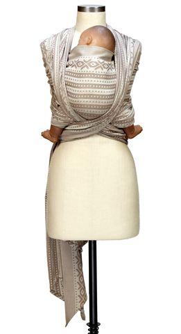 Caribou Baby - Ellevill Woven Wrap Norwegian Style Alba