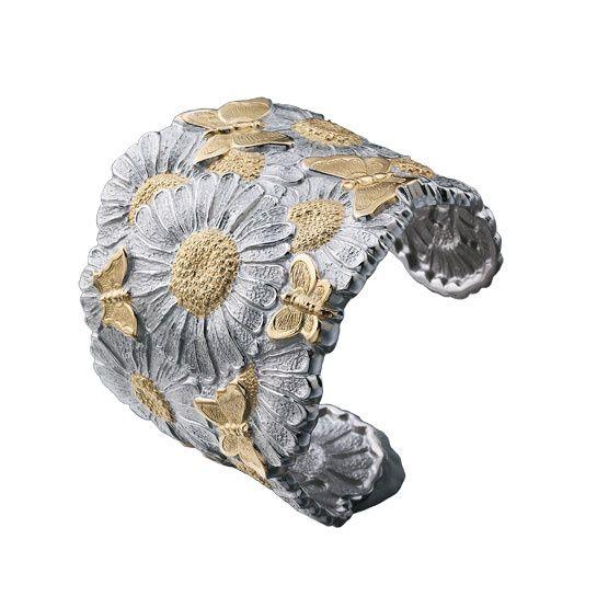 "La collection ""Blossom Butterfly & Daisy"" de Buccellati pour Montaigne Market"