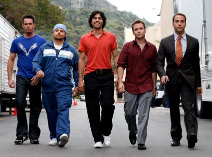Look at that swag. Only the TV-show Entourage can show off these skills