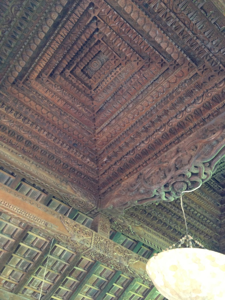 Ceiling of antique Joglo