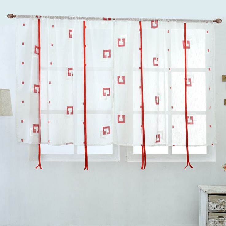 2016 Cafe Kitchen Curtains Voile Window Blind Curtain Owl: Roman Blinds, Roman Shades And Fabric Blinds