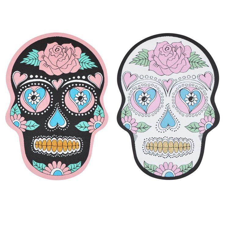 Rosie Wonders Skull Back Patch Iron-on