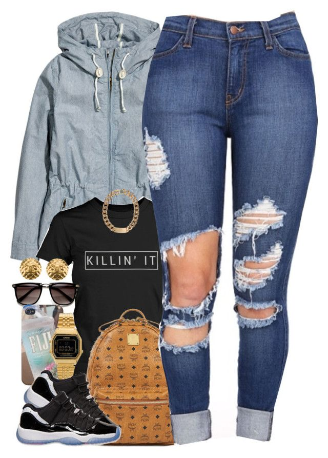 """""""Untitled #1446"""" by power-beauty ❤ liked on Polyvore featuring H&M, Casio, MCM, Retrò, Alex and Chloe and Chanel"""