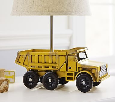 Dump Truck Base #pbkids. Can't wait to put L's room together!!!