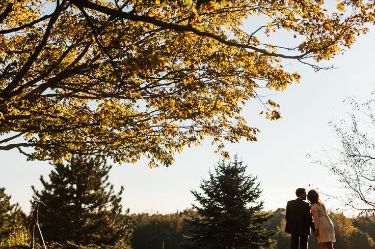 One of Canada's Most Unique Wedding Venues - Cambium Farms | A Brit & A Blonde. Stunning fall wedding in Canada at a barn. http://abritandablonde.com/2014/02/06/blog/magical-barn-wedding-at-cambium-farms/