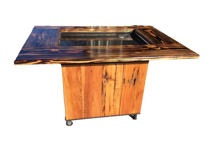 backyard hibachi grill torched cypress outdoor hibachi grills in