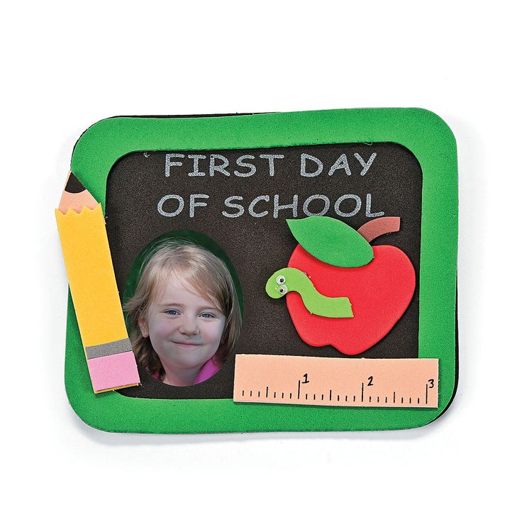 %26%238220%3BFirst+Day+Of+School%26%238221%3B+Photo+Frame+Magnet+Craft+Kit+-+OrientalTrading.com