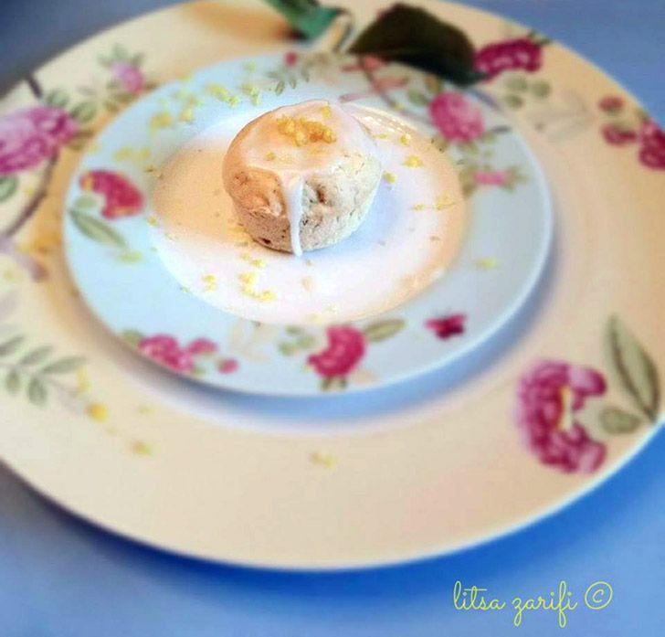 Cupcakes λεμονιού με κολοκύθι
