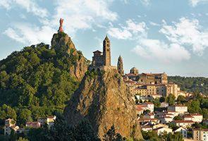 Le Puy-en-Velay - starting point for Chemin du Puy (to St. Jean Pied du Port and on to Santiago de Compostela)