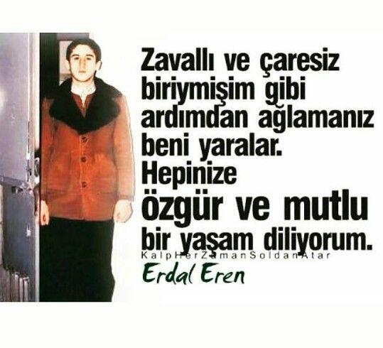 """Erdal Eren 13.12.1980 """"Asmayalımda besleyelim mi"""" diyen piç Kenan Evrene ÖFKEMIZI ASMADIK BESLIYORUZ..."""