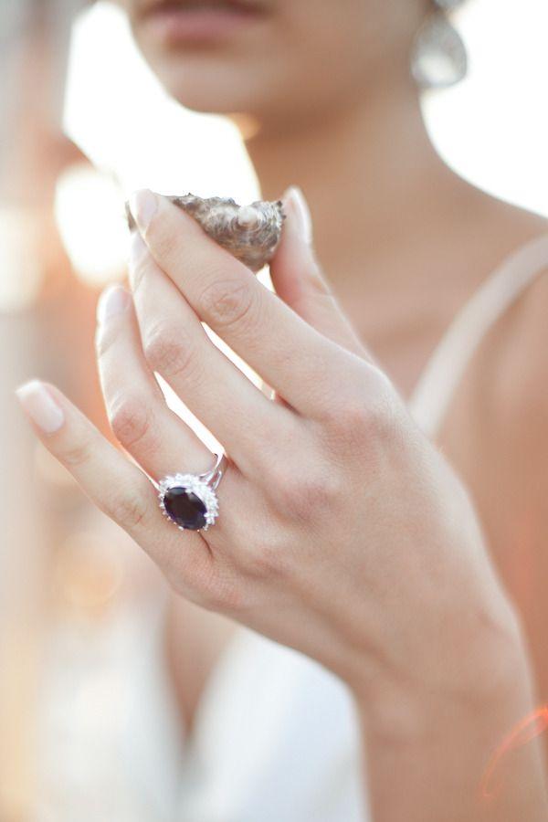 Black diamond ring//Photography Design by robynthompsonportfolio.com, Coordination Design by epicevents.ca