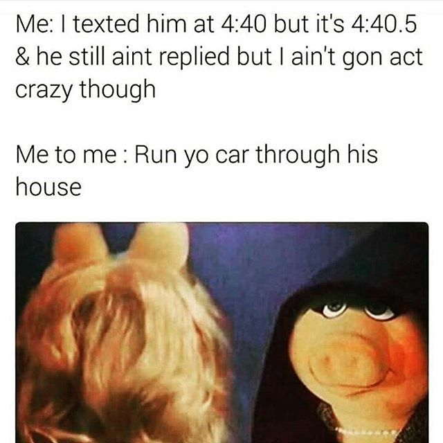 Why I can't have a relationship #highexpectations #crazygirproblems #misspiggy #like4like