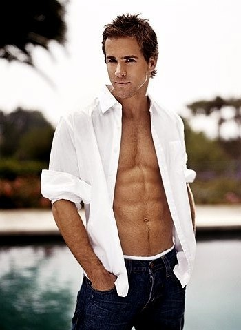 Ryan Reynolds. The face and the abs are HOT! Yes, he fits into just about any board I have!
