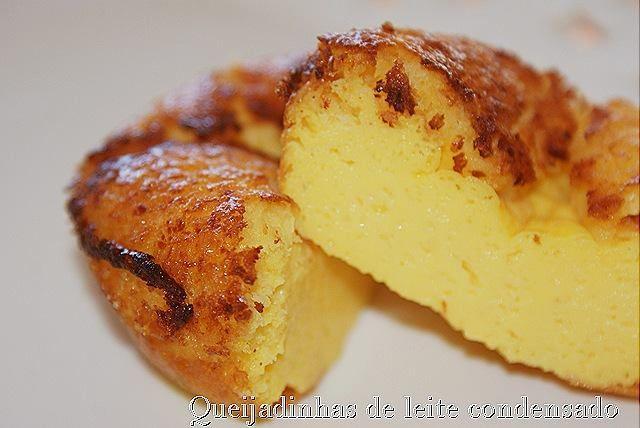 Queijadinhas de leite condensado - http://www.sobremesasdeportugal.pt/queijadinhas-de-leite-condensado/