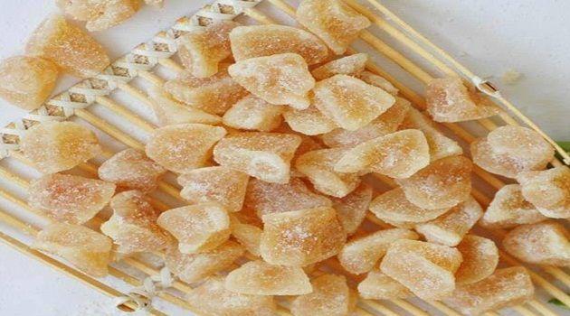 Veja a Deliciosa Receita de Gengibre Cristalizado. É uma Delícia! Confira!