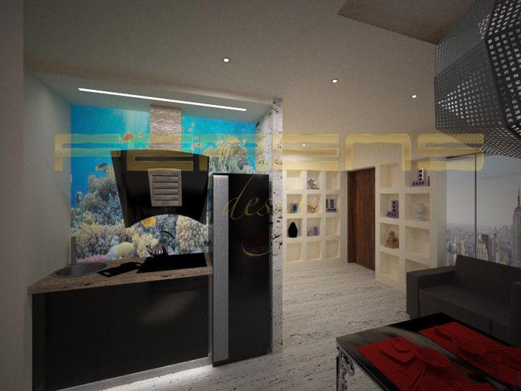 architekt FERENS design joanna ferens - hofman warszawa wizualizacje | MIESZKANIE KAZURY
