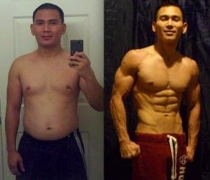 p90x2 before and after women  Ron H - Before
