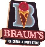 Braums @Holly Hronek the ice cream place we'll go when you come