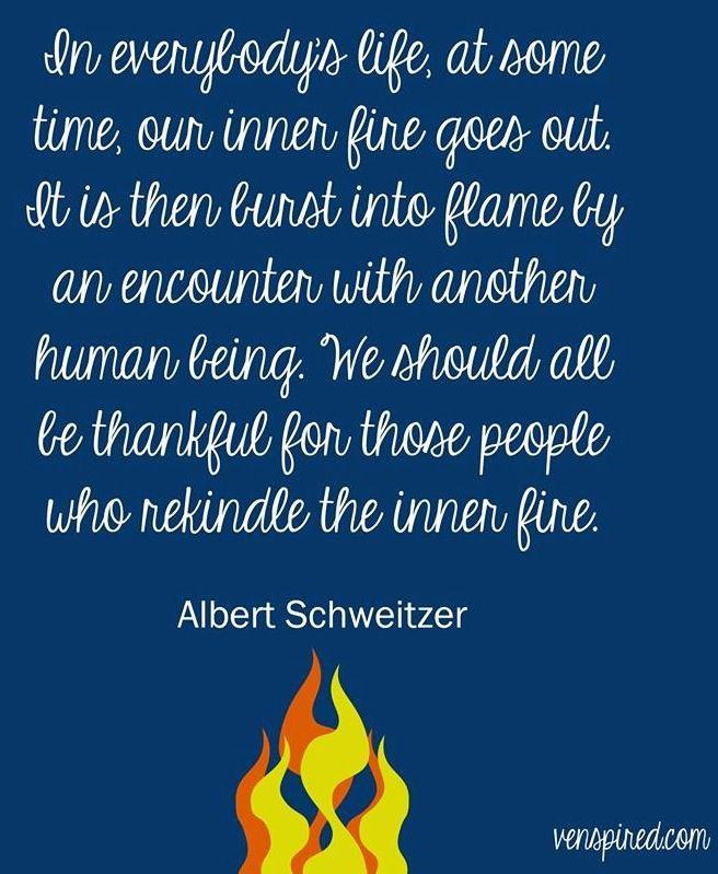 Inner flame quote via www.Venspired.com and www.Facebook.com/Venspired