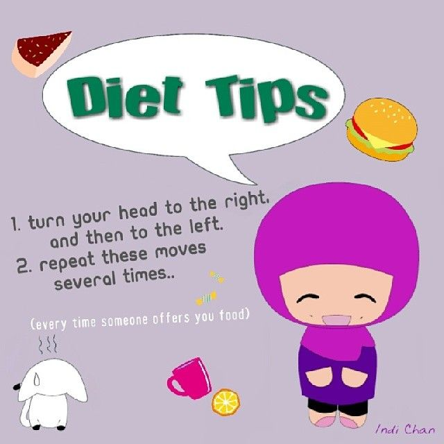 Diet tips #diet #tips #doodling #drawing #comic #chibi #instext #justhumor #jakarta #indonesia