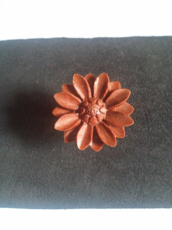 Check out this item in my Etsy shop https://www.etsy.com/listing/268235225/stud-earring-wooden-sunflower-stud
