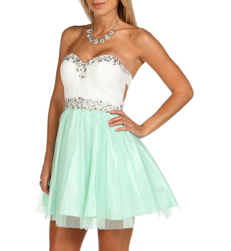 Addaley-Mint Homecoming Dress at WindsorStore