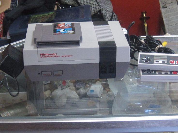 Original Nintendo NES Video Game System #Nintendo